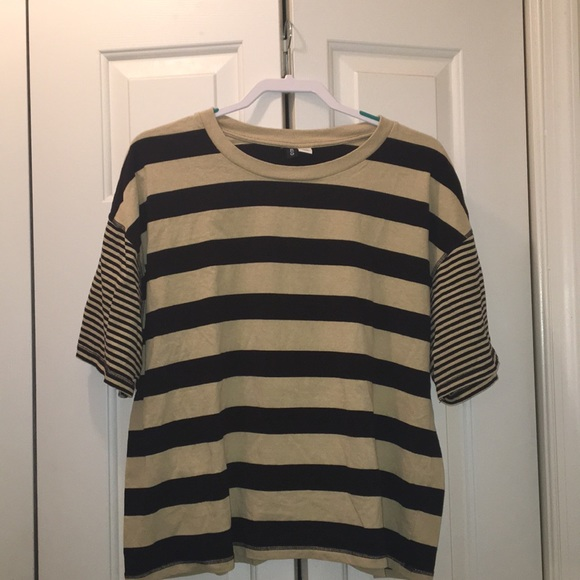 BDG Tops - Urban Outfitters BDG Oversized Striped Shirt